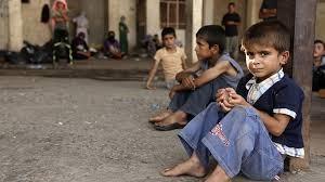 Ajuda para crianças na Ásia