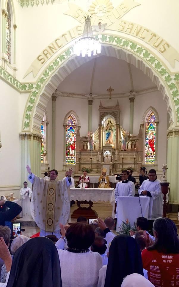 Diocese de Luz ganha um novo sacerdote!!!