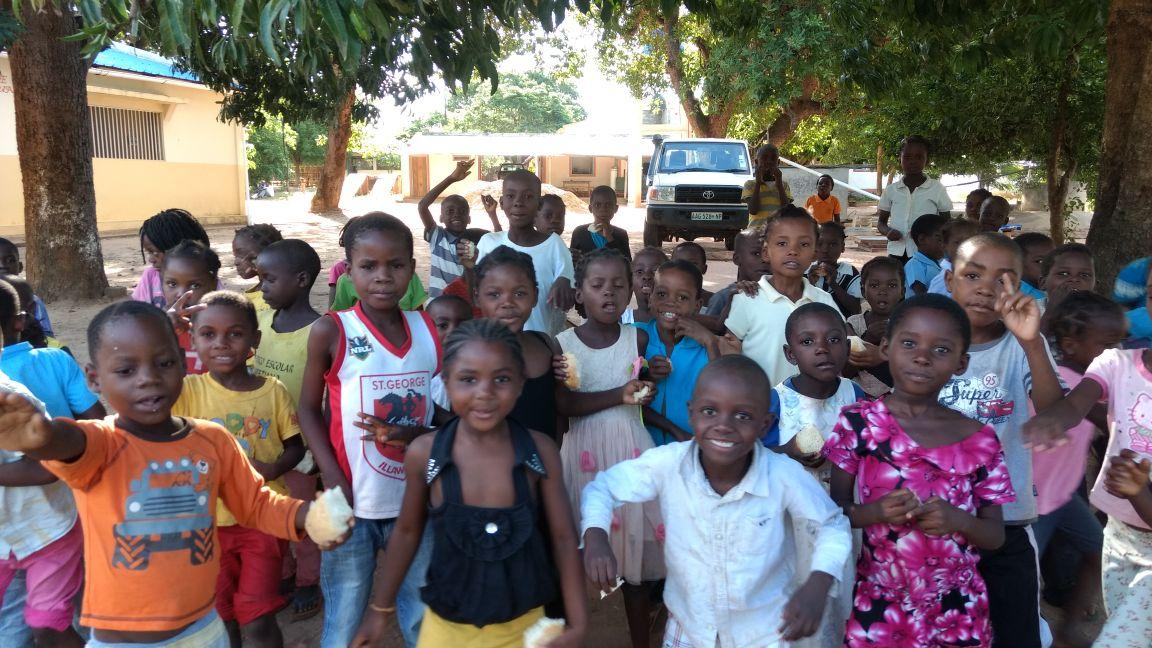 Almoço beneficente em prol da Missão na África